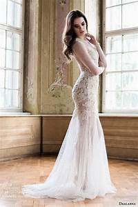 daalarna 2014 wedding dresses wedding inspirasi With long sleeve illusion wedding dress