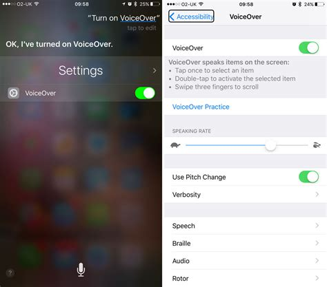 how to turn voice iphone how to use voiceover on iphone macworld uk