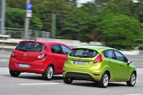 Ford Opel by Kleinwagen Vergleich Wer Kann Mehr Ford Oder
