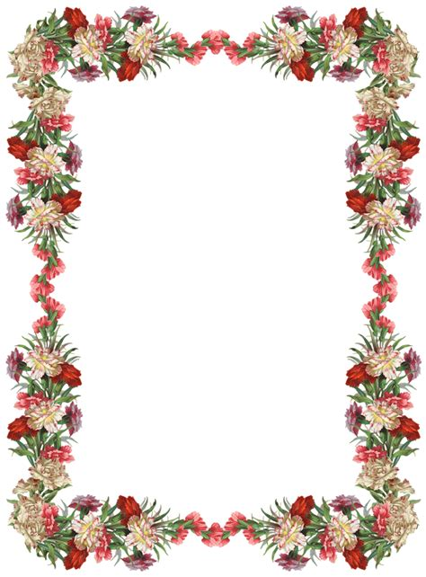 cute vintage frames clipart png clipground