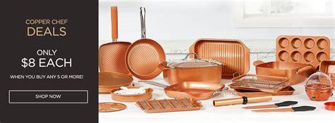 copper chef deals  ea copper cookware baking pans