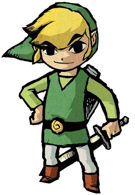 Link Characters And Art The Legend Of Zelda The Wind