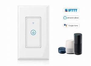 Interrupteur Compatible Google Home : moins de 15 le smart interrupteur tactile wi fi android ~ Nature-et-papiers.com Idées de Décoration