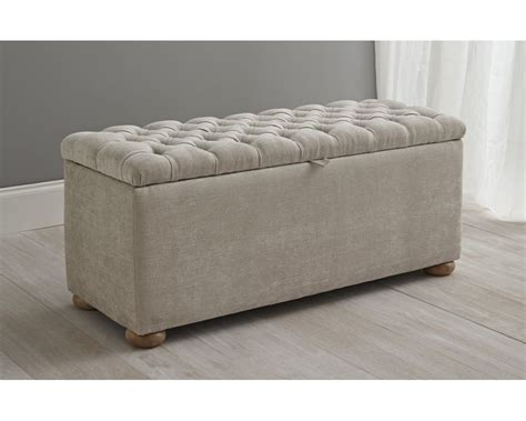 Upholstered Ottoman by Bedroom Storage Upholstered Ottoman And Wood Floors With