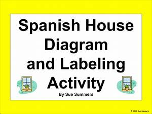 Spanish House Diagram And Labeling Activity