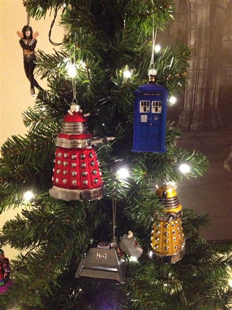 doctor who tree ornaments