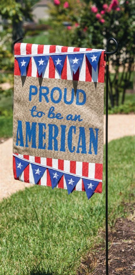 american garden flag outdoor patriotic garden flags add to 4th of july decor