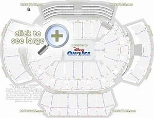Philips Arena Disney On Ice Seating Chart Philips Arena Seat Row Numbers Detailed Seating Chart