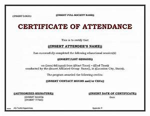 certificate template free download certificate of With conference certificate of attendance template