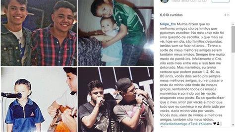 No dia do amigo, irmão de Cristiano Araújo faz homenagem ...