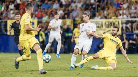Villarreal - Real Madrid | Horario, canal de TV en España ...