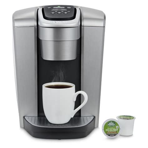 We'll review the issue and make a decision about a partial or a full refund. Keurig K-Elite Single-Serve K-Cup Pod Coffee Maker With Iced Coffee Setting - Silver : Target