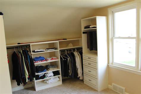 slanted wall closet ideas home design ideas