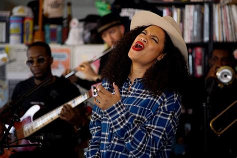 roc nations rising star nicole bus performs  npr tiny