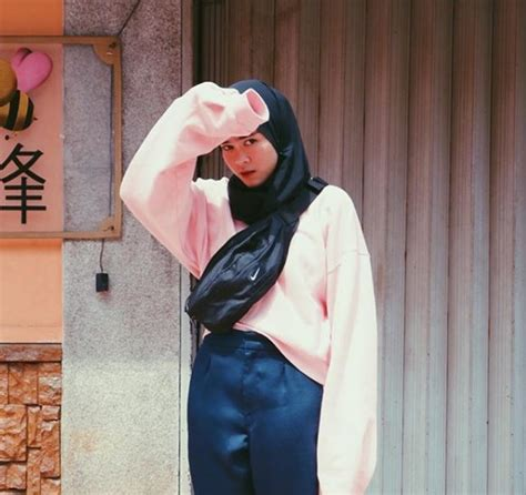 style hijab  hoodie crop tutorial hijab terbaru