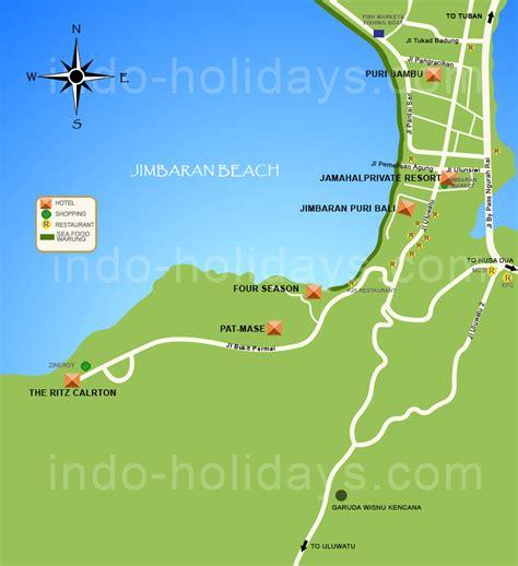 jimbaran map