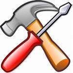 Svg Gnome Hammer Clipart Icon Open Devel