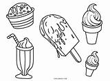Ice Cream Coloring Pages Cone Cones Colouring Printable Truck Drawing Template Getdrawings Cool2bkids Float Templates Sketch sketch template