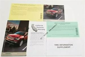 2016 Jeep Compass Owners Manual User Guide 75th Ann