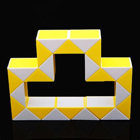 snake snakelike shape magic cube puzzle toys childrens