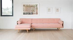 Light Pink Sofa 16 Ultra Chic Blush Pink Sofas How To