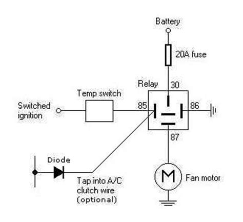 Automotive Cooling Fan Wiring Diagram by Electrical Cooling Fan Is Frying My Switches Need Help