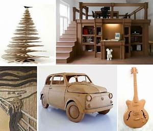 Cardboard Creations: 45 Recycled Works of Art - WebEcoist
