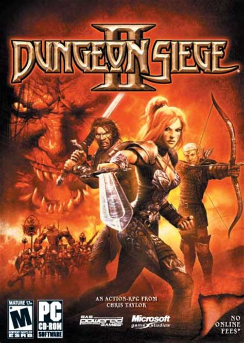 dungeon siege ii dungeon siege ii pc ign