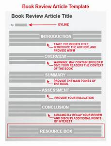 book review article template With blogger product review template
