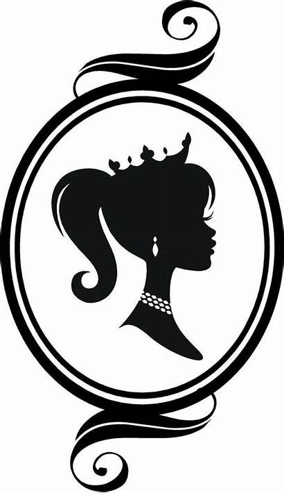 Silhouette Crown Cameo Clipart Princess Vinyl Clipground