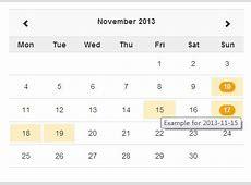 jQuery Calendar Plugins jQuery Script
