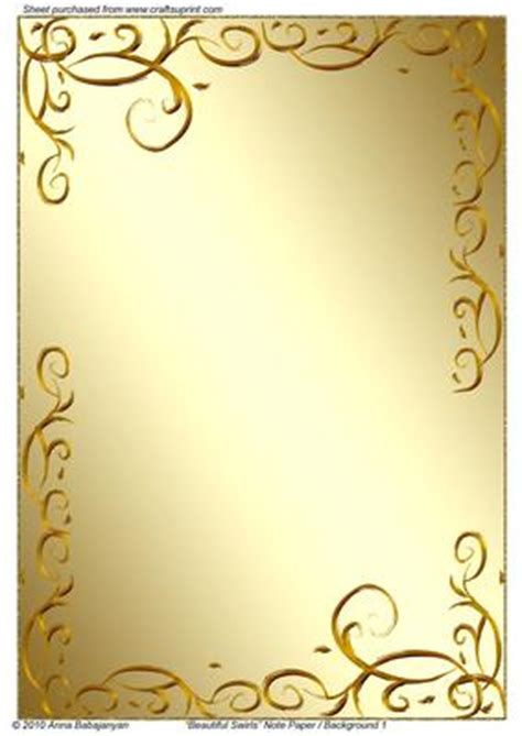 Beautiful Swirls Note Paper / Background 1 CUP161610 96