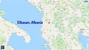 Elbasan Map and Elbasan Satellite Image