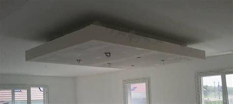 comment enduire un plafond en placo rail placo plafond chassis suspendu montant r45 m45 caisson decaissement faux plafondplaco
