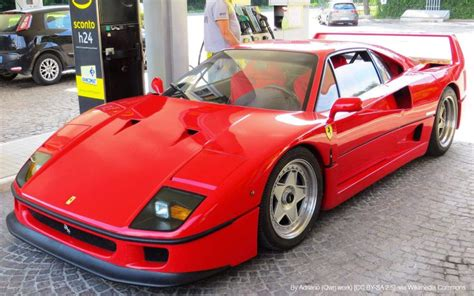 F40 Cost by 23 Rarest Cars In The World And How Much They Cost