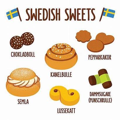 Swedish Cinnamon Sweets Roll Semla Sweet Kanelbulle