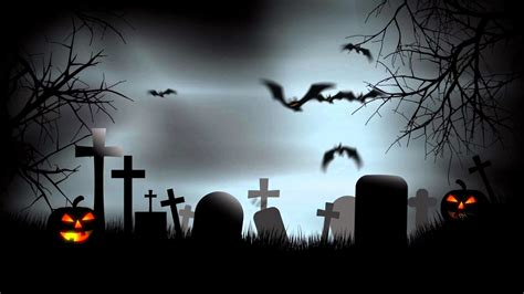 Fall Backgrounds Spooky by 56 Creepy Graveyard Wallpapers On Wallpaperplay