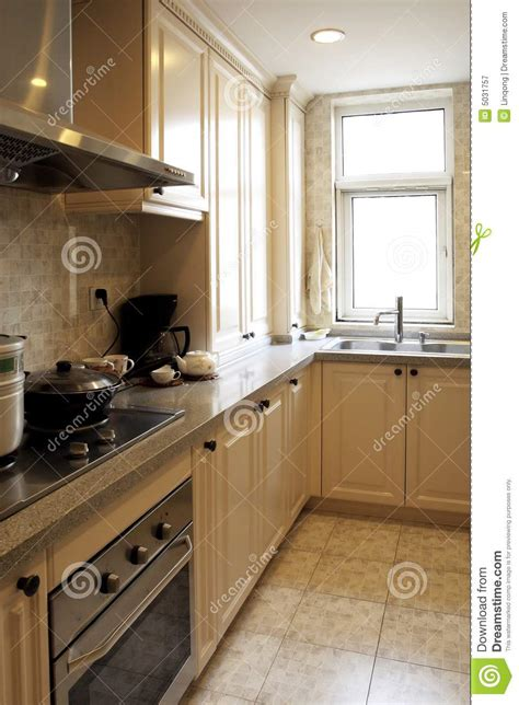 chinese style kitchen royalty  stock photography