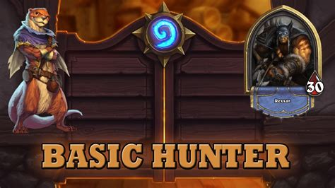 hearthstone deck guide starter hunter basic cards only