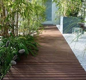 idee amenagement deco jardin tout pour une belle With idee terrasse exterieure contemporaine 16 photo de maison en pierre avec piscine