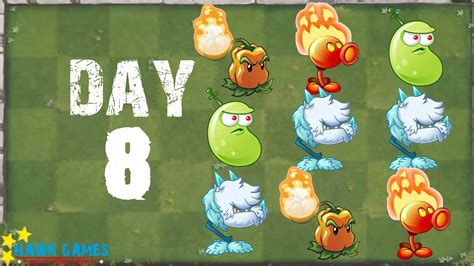 plants vs zombies 2 modern day day 8 beghouled no