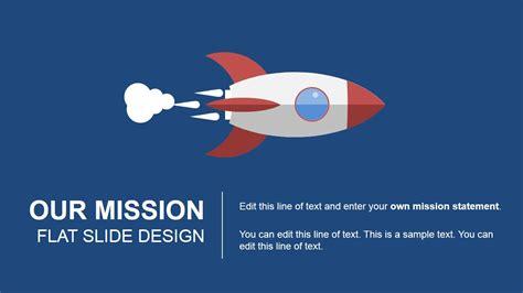 powerpoint template designs  rocket spaceship