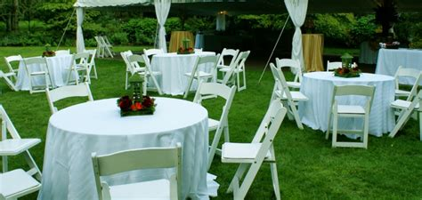 wedding tables and chairs macomb county party rental tent rentals chairs