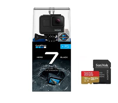 gopro hero hero black bundle gb sd card model