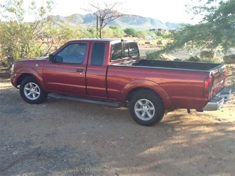 buy used 2001 nissan frontier xe extended cab 2