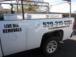 desert swarm decals install innovative signs of tucson With vinyl lettering tucson