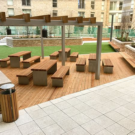 Exterior Furniture by External Furniture For Greengate Project