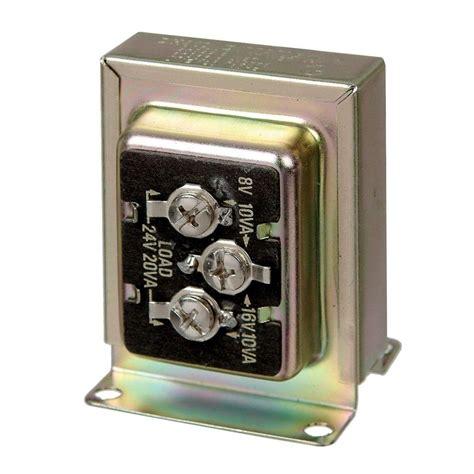 Carlon Wired Door Bell Tri Volt Transformer Per Case