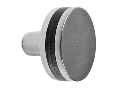 Round Flat Inlay Door Knob