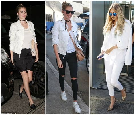 White Denim Jacket + Abstain vs. Moderate   On the Daily EXPRESS